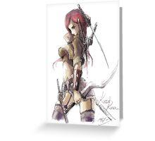 Katarina fan art Greeting Card