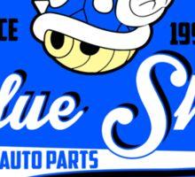 Blue Shell auto parts Sticker