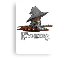 Lord of the Ribs - Gandalf Metal Print