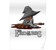 Lord of the Ribs - Gandalf Poster