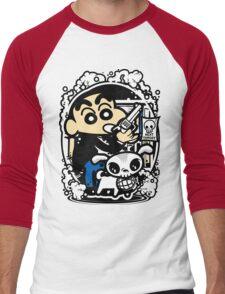 Crayon Shin Chan Men's Baseball ¾ T-Shirt