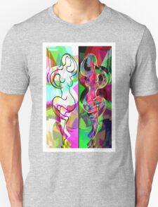 Ta Dance By Light An Night Unisex T-Shirt
