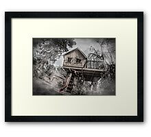 Don't go into the Woods Framed Print