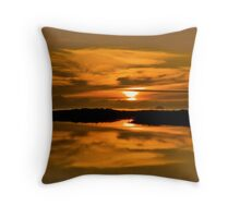 Sunset Fantasia Throw Pillow
