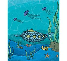 Nautilus under the sea Photographic Print