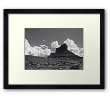 The Classic Butte Image Framed Print
