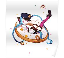 Jinx and donuts Poster