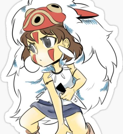 Mononoke Hime Sticker