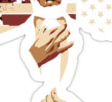 Frank Underwood For President (Bad For The Greater Good) Sticker