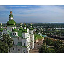 Trinity Cathedral -Chernigov, Ukraine  Photographic Print