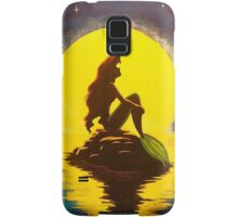 The Little Mermaid Disney - Ariel and the Moon Samsung Galaxy Case/Skin