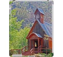 Chapel In The Woods iPad Case/Skin