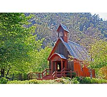 Chapel In The Woods Photographic Print