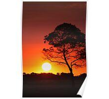 """""""Firing Sun"""" Poster"""