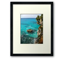 Surrounded by Blue #2 Framed Print