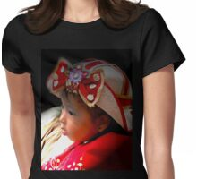 Cuenca Kids 607 Painting Womens Fitted T-Shirt