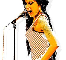 Amy Winehouse in London by PrivateVices