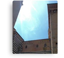 Siena Faux Canvas Print