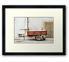 trailer nit-107 Framed Print
