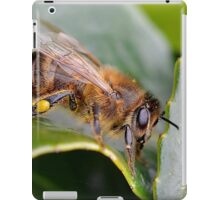 Macro Bee iPad Case/Skin