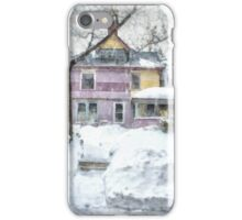 Victorian Snowstorm iPhone Case/Skin