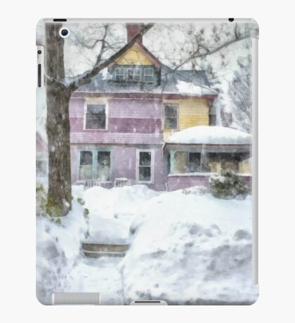 Victorian Snowstorm iPad Case/Skin