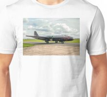 English Electric Canberra B.2/6 WK163 G-BVWC Unisex T-Shirt