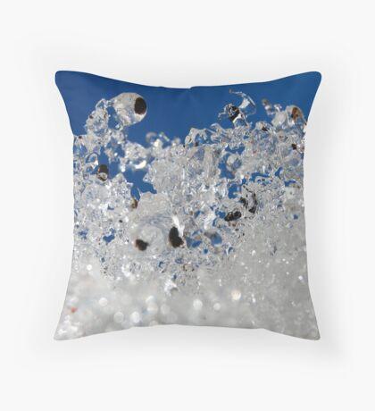 Winter Skyward Throw Pillow
