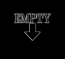 Empty, on Black by TOM HILL - Designer