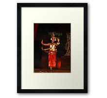 Cambodian Classical Dancers - Siem Reap Framed Print