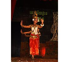 Cambodian Classical Dancers - Siem Reap Photographic Print