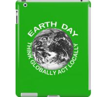 EARTHDAY, APRIL 22 iPad Case/Skin