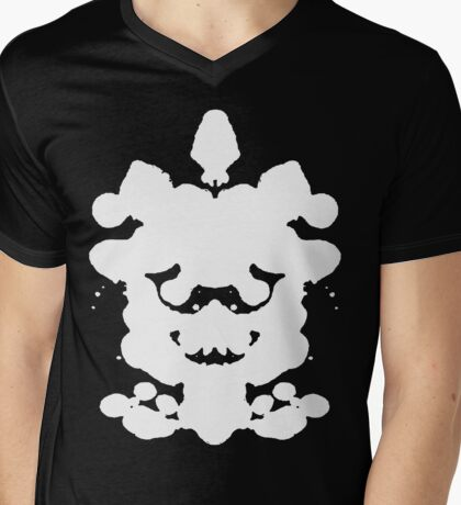 The Rorschach Test (Inverted) Mens V-Neck T-Shirt