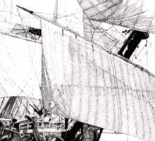 Göteborg Sailing Vessel Sticker