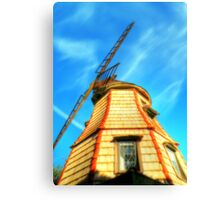Windmill in the Sun Canvas Print
