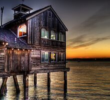 San Diego Seaport Hut by Ahmed Shamsi