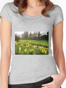 Easter In Savill Gardens Women's Fitted Scoop T-Shirt