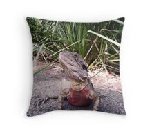 Red Blooded Male Throw Pillow