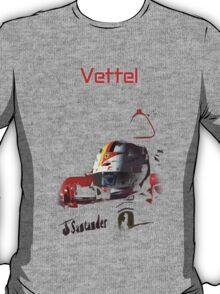 Sebastian Vettel; Ferrari 2015 T-Shirt