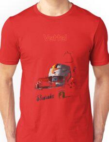 Sebastian Vettel; Ferrari 2015 Unisex T-Shirt