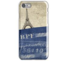 Trip to Paris - square crop iPhone Case/Skin