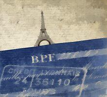 Trip to Paris - square crop by Edward Fielding
