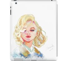 #3 To Monroe iPad Case/Skin