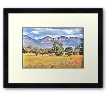 True Colours - Capertee Valley , Garden of Stone - The HDR Experience Framed Print