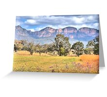 True Colours - Capertee Valley , Garden of Stone - The HDR Experience Greeting Card