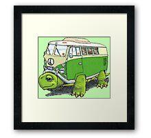 Turtle Bug Framed Print