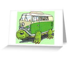 Turtle Bug Greeting Card