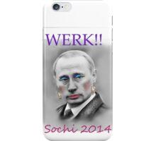 WERK!! Sochi 2014 iPhone Case/Skin