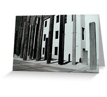structured warmth Greeting Card