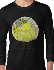 fresh useful eco-friendly apple Long Sleeve T-Shirt